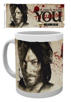 The Walking Dead - Daryl Needs You bögre