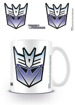 Transformers G1 - Decepticon Symbol bögre