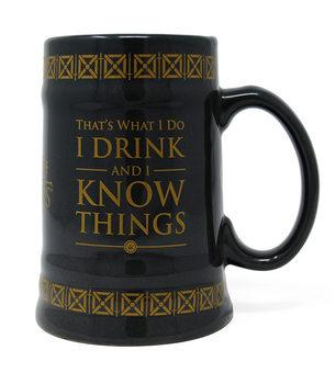 Trónok Harca - Drink & Know Things bögre