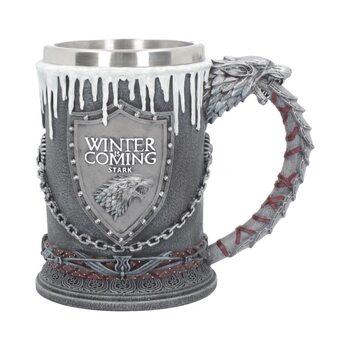 Trónok Harca (Game Of Thrones) - House Stark bögre