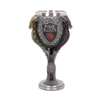 Trónok Harca (Game Of Thrones) - House Targaryen bögre