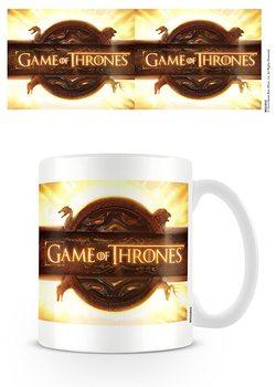Trónok harca - Game of Thrones - Opening Logo bögre