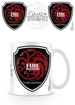 Trónok harca - Game of Thrones - Targaryen bögre