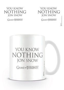 Trónok Harca - You Know Nothing Jon Snow bögre