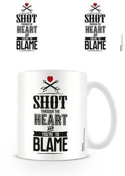 Valentin nap - Shot bögre