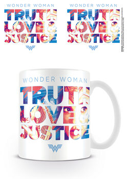 Csésze Wonder Woman 1984 - Truth Love Justice