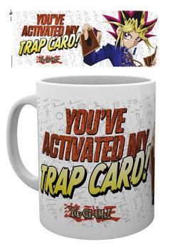 Yu Gi Oh! - Trap Card bögre