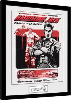 Πλαισιωμένη αφίσα Borderlands 3 - Handsome Jack