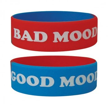 GOOD MOOD BAD MOOD Braccialetti in silicone