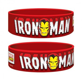 Marvel Retro - Iron Man Braccialetti in silicone