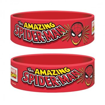 Marvel Retro - Spider-Man Braccialetti in silicone