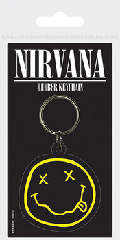 Nirvana - Smiley Breloc