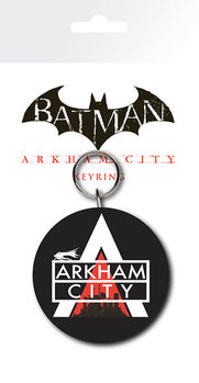 Batman Arkham City - Logo Breloczek