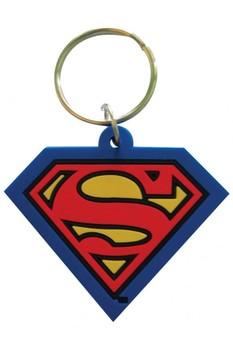 SUPERMAN - shield Breloczek