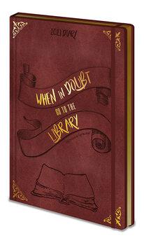 Diary 2021 - Harry Potter - When In Doubt (EN) Brevpapper