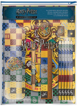 Brevpapper Harry Potter - House Crests