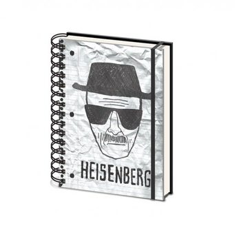 Breaking Bad - Heisenberg A5 Brevpapper