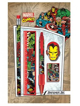 Marvel Retro - Montage stationery set Brevpapper