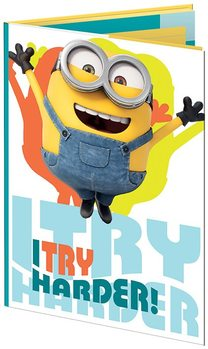 Minions (Despicable Me) - Les Buddies A6 Sticky Notes Set Brevpapper