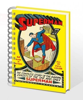 SUPERMAN NO.1 - notebook A5 Brevpapper