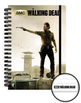 The Walking Dead - Prison A5 Notebook Brevpapper
