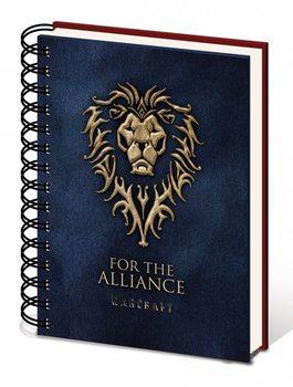 Warcraft: The Beginning - Choose a side A5 notebook Brevpapper