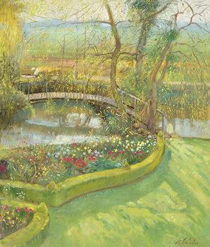 Bridge Over the Willow, Bedfield Festmény reprodukció