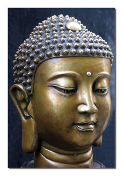 Buddha - Face Moderne billede