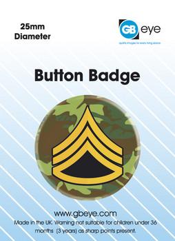 ARMY RANK SARGE button