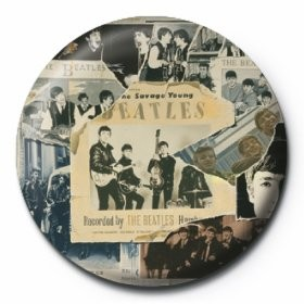 BEATLES - anthology 1 button