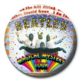 BEATLES - magical mystery tour button