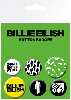 Button Billie Eilish - Stickman
