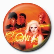 BLONDIE (BAND) button