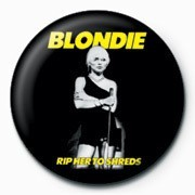 BLONDIE (RIP HER) button