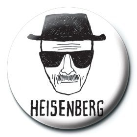 Breaking Bad - Heisenberg paper button
