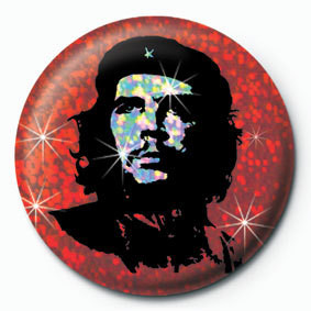 CHE GUEVARA - red button