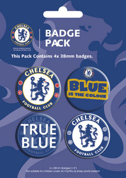 Button CHELSEA - pack 2