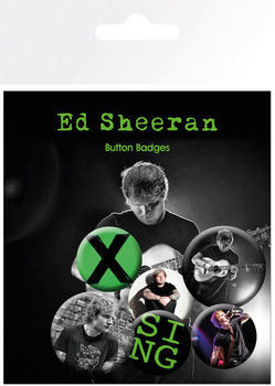 Button Ed Sheeran - Singer