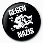 GEGEN NAZIS button