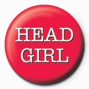 HEAD GIRL button