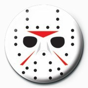 Hockey Mask button