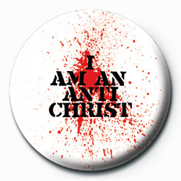 I AM AN ANTICHRIST button
