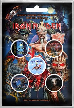 Button Iron Maiden – Later Albums