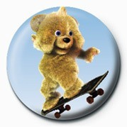 JAMSTER - Brown Bear (Skat button