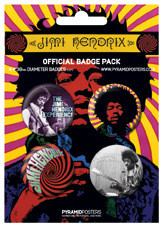 JIMI HENDRIX button