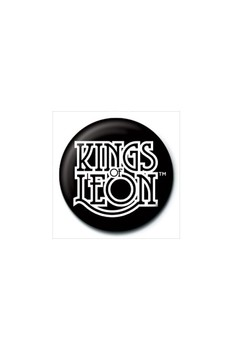 KINGS OF LEON - logo button