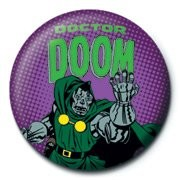 MARVEL - doctor doom button