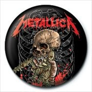 METALLICA - alien birth button