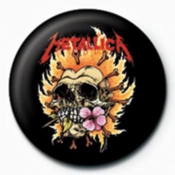 METALLICA - hot GB button