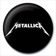 METALLICA - logo button